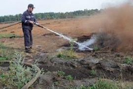 Вокруг Киева горят торфяники (ФОТО, ВИДЕО)