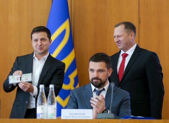 Президент Зеленський представляє Ігоря Сопеля