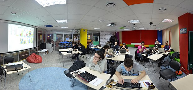 В киевском офисе крупнейшей IT-компании Globallogic