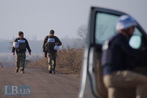 """ОБСЄ констатувала збільшення кількості порушень """"тиші"""" в районі ООС"""