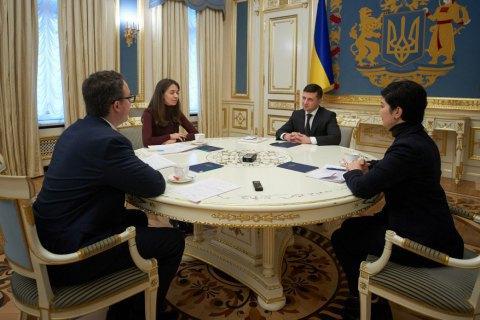 """Зеленський пропонує створити для кримчан """"місто-сад"""" біля в'їзду на материкову Україну"""