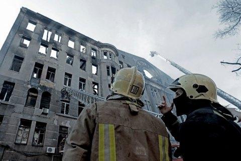 В Одессе на месте пожара нашли еще два тела, количество жертв выросло до семи человек