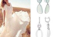 Золотые и серебряные серьги: модные тренды летнего сезона