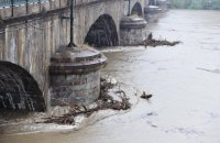 У Турині річка вийшла з берегів і затопила місто