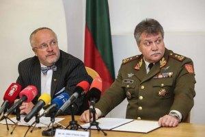 Міністр оборони Литви відвідає Україну