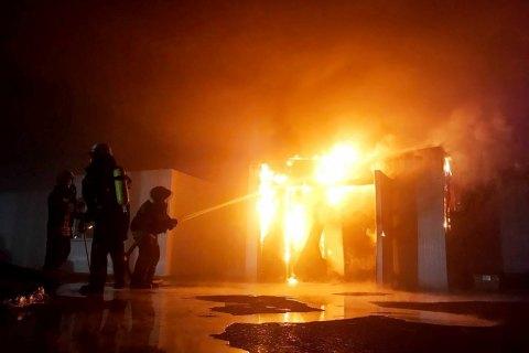 """У Запоріжжі згоріли склади рибзаводу """"Аркадія"""""""