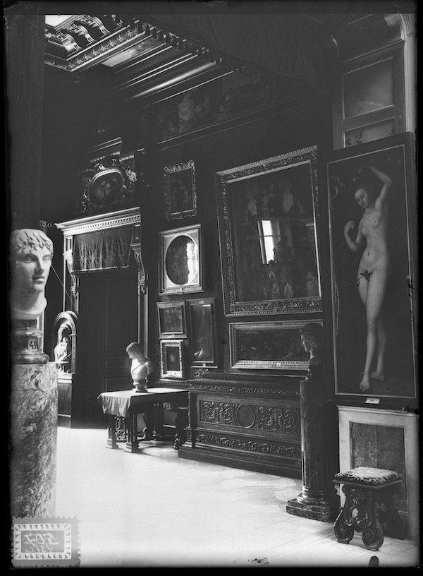 «Єва» Лукаса Кранаха Старшого в експозиції Музеї Ханенків. 1928 або 1929 рік