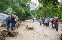 В результате паводков на западе Украины подтоплены почти 10 тыс. домов