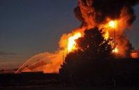 Спроби гасити пожежу на нафтобазі у Василькові дуже небезпечні, - колишній заступник міністра МНС