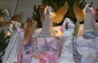 В Тернополе установили рождественскую шопку гигантских размеров
