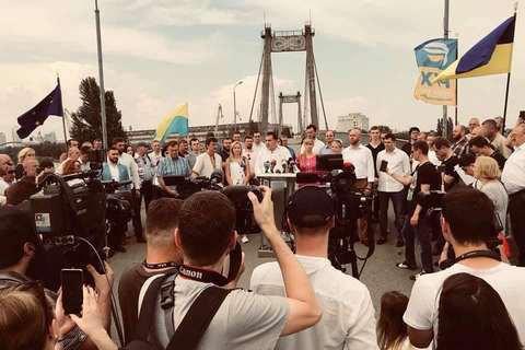 Партию Саакашвили не пустили на выборы