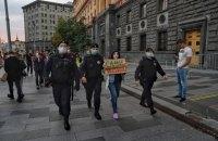 У Москві журналісти вийшли на пікети проти визнання ЗМІ іноагентами, є затримані