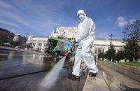 В Италии за сутки зафиксировали 627 смертей от коронавируса