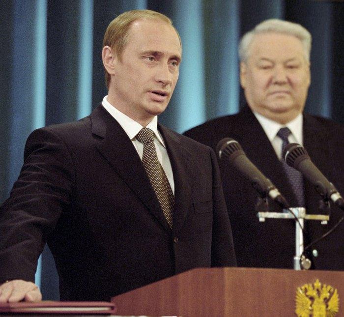 Путин приносит присягу президента РФ, 7 мая 2000