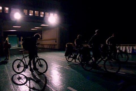 Полицейские разогнали ночной велопробег в Санкт-Петербурге