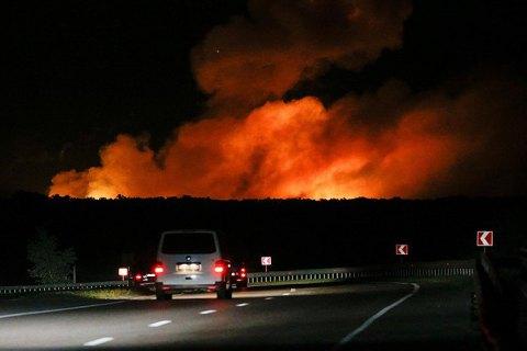 Прокуратура: перед пожаром на арсенал в Калиновке завезли горючие вещества