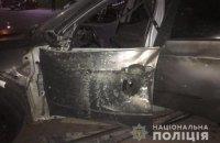 У Франківську підірвали автомобіль пострілом з РПГ