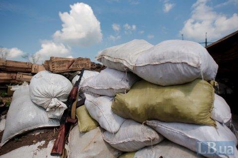 Один боец ВСУ ранен за сутки на Донбассе