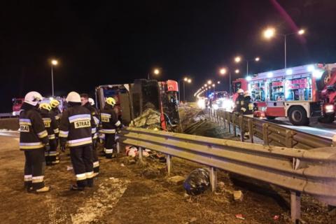 Авария автобуса в Польше: 9 украинцев находятся в тяжелом состоянии (обновлено)