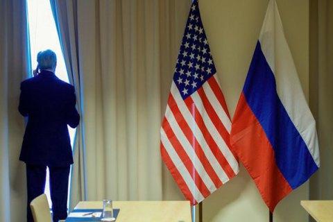 У Петербурзі облили фарбою будівлю генконсульства США