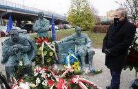 В Польше к 100-й годовщине Варшавской битвы открыли памятник с Петлюрой