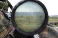 На Донбассе от пули снайпера погиб украинский военный