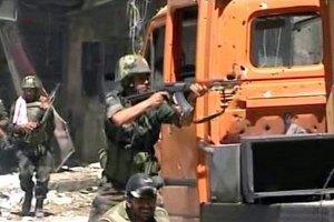 Сирійські війська захопили місто, яке контролюють повстанці