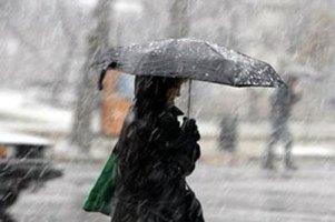 В Москве прошел ледяной дождь