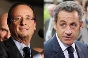 Дебаты Саркози и Олланда наблюдали 17,8 млн человек