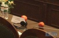 Савченко заявила, что приносила в Раду не гранаты, а плоды граната