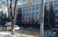 Активисты пикетируют заседание Киевсовета, чтобы не допустить принятия бюджета города (ОБНОВЛЕНО)