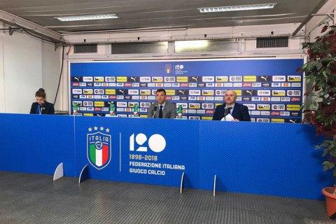 Шевченко висловив задоволення грою збірної України в матчі з італійцями