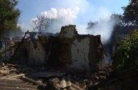 Из-за взрыва газового баллона в Полтавской области разрушился дом