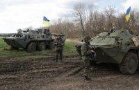 После полуночи боевики совершили обстрел позиций сил АТО в районе Широкино