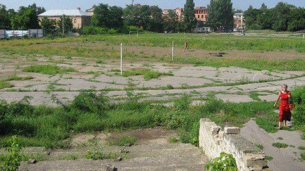 Стадион Спартак в Херсоне