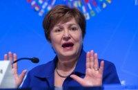 Глава МВФ заявила про початок глобальної рецесії через пандемію коронавірусу
