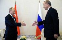 Путин и Эрдоган договорились о взаимной отмене санкций, кроме запрета на помидоры