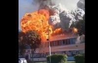 У Білорусі стався потужний вибух на фабриці
