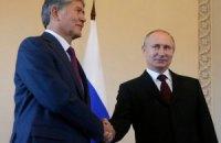 Путин появился на публике