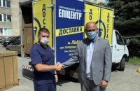 Епіцентр передав нову партію апаратів ШВЛ лікарням Львова