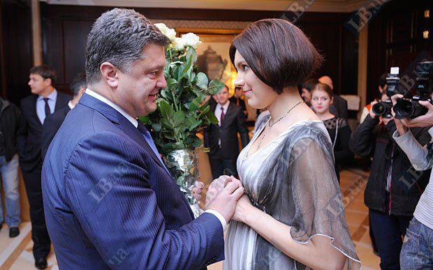 Петр Порошенко и Соня Кошкина