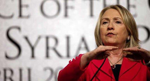 Хиллари Клинтон призывает урегулировать ситуацию в Сирии и увеличить объем гуманитарной помощи для жертв боевых действий