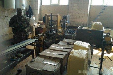 СБУ изъяла поддельное масло в Житомирской области