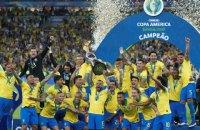 Бразилия в девятый раз выиграла чемпионат Южной Америки