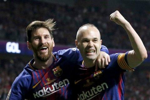 """""""Барселона"""" впервые в Испании сыграет с чемпионской нашивкой на футболке"""