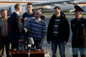 Звільнені інспектори з країн ОБСЄ прибули до Берліна