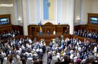 Рада зібралася на урочисте засідання з нагоди Дня Незалежності