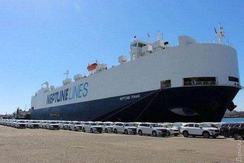 В Украину доставлены 635 Mitsubishi Outlander для полиции