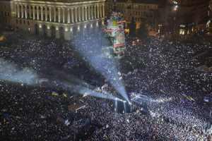 В оппозиции насчитали 2 млн человек на Майдане в новогоднюю ночь