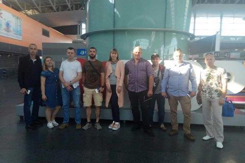 На реабілітацію в Болгарію вирушила 13-та група військових